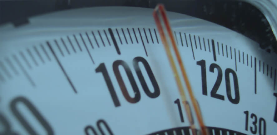 close up of vehicle speedometer