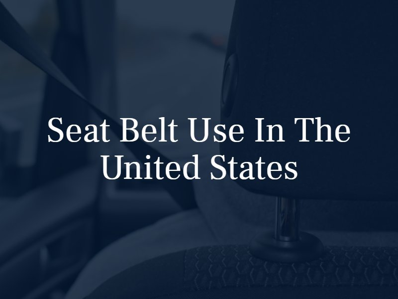 seat belt use in the united states